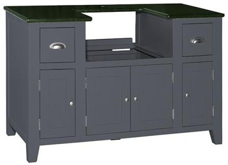 Buy Vancouver Expressions Down Pipe Grey 4 Door 2 Drawer Granite ...