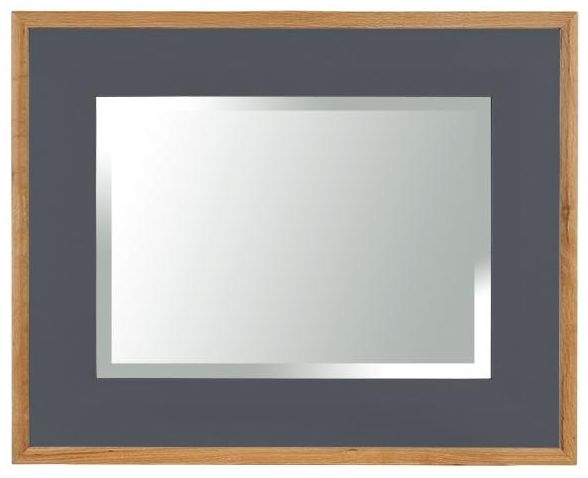 Vancouver Expressions Down Pipe Grey Mirror - Rectangular