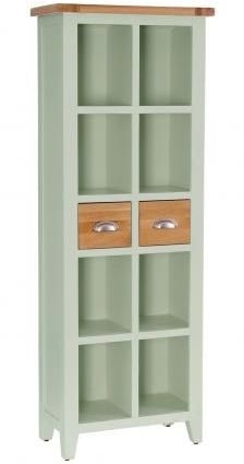 Vancouver Expressions 2 Drawer Bookcase - Oak and Grey