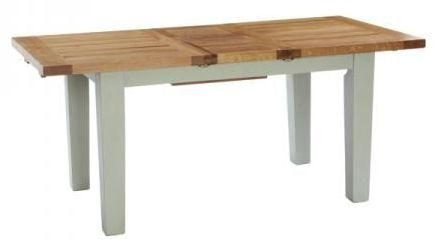 Vancouver Expressions Extending Dining Table - Oak and Grey