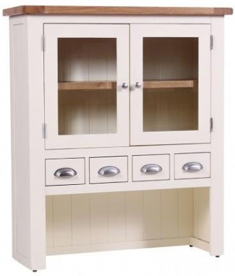 Vancouver Expressions Linen Hutch - 2 Door 4 Drawer