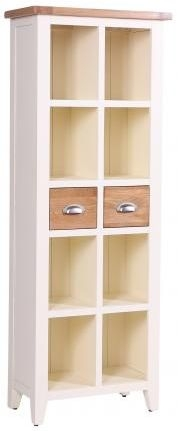 Vancouver Expressions Linen Bookcase - 2 Drawer