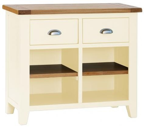 Vancouver Expressions Linen 2 Drawer Narrow Sideboard