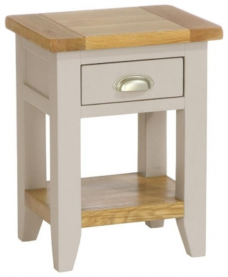 Vancouver Expressions Potters Wheel 1 Drawer Bedside Table