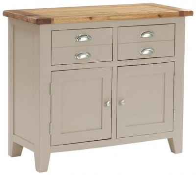 Vancouver Expressions Potters Wheel 2 Door 2 Drawer Narrow Sideboard
