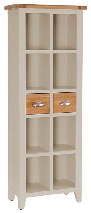 Vancouver Expressions Potters Wheel Bookcase - 2 Drawer 8 Shelves