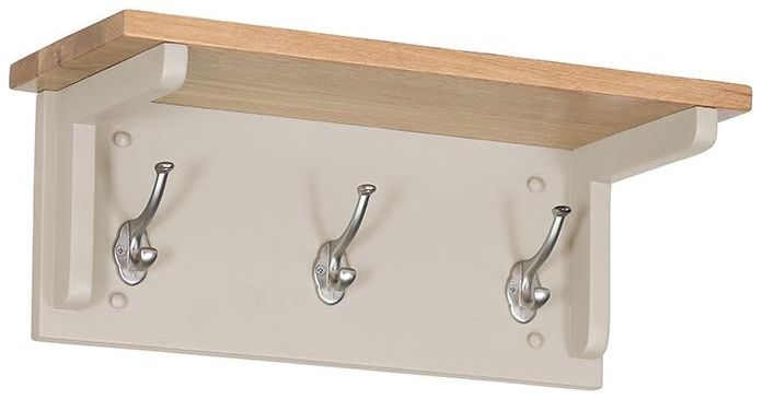 Vancouver Expressions Potters Wheel Coat Rack - 3 Hooks