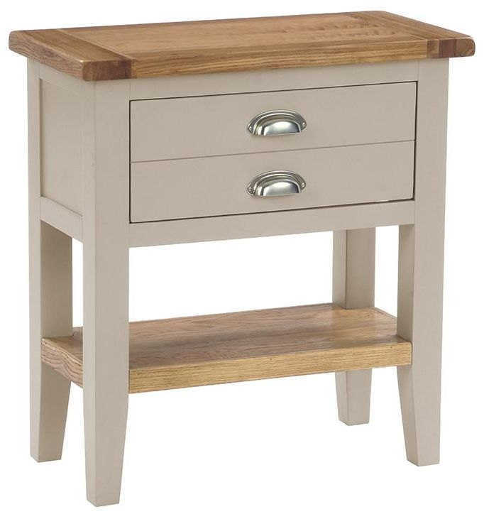 Vancouver Expressions Potters Wheel Console Table - 1 Drawer