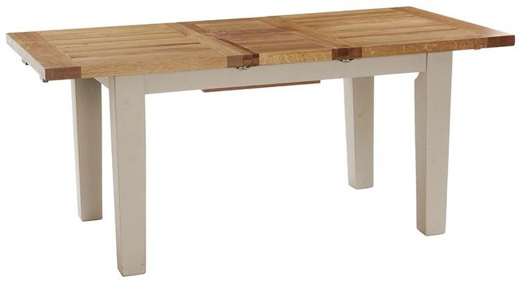 Vancouver Expressions Potters Wheel Dining Table - Extending 140cm-180cm
