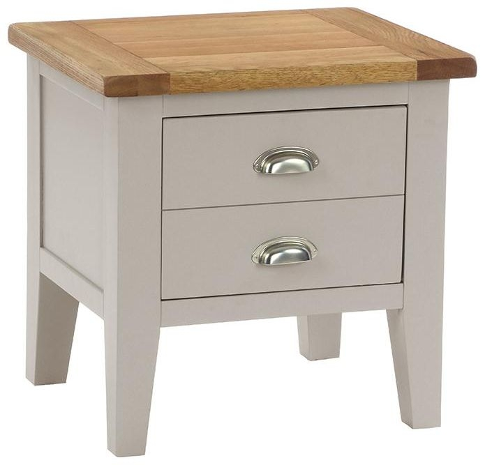 Vancouver Expressions Potters Wheel Lamp Table - 1 Drawer