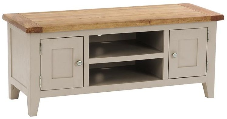 Vancouver Expressions Potters Wheel TV Unit - 2 Door 1 Shelf