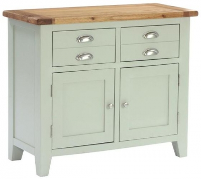Vancouver Petite Expression 2 Door 2 Drawer Small Narrow Sideboard
