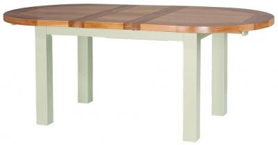 Vancouver Petite Expression Dining Table - Round Extending 160cm - 200cm
