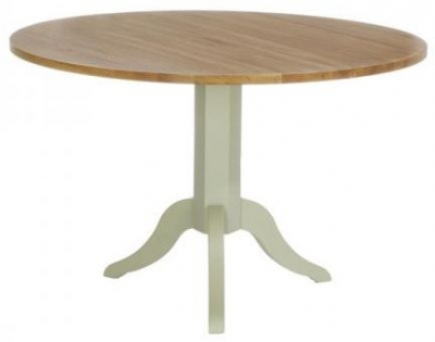 Vancouver Petite Expression Pedestal Dining Table - Round ANB125