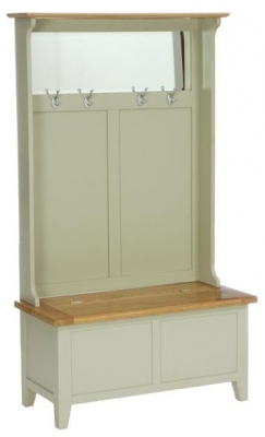 Vancouver Petite Expression Storage Unit with Coat Rack and Mirror