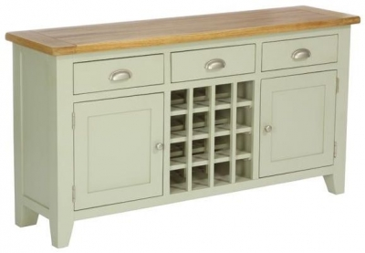 Vancouver Petite Expression 2 Door 3 Drawer Wine Table