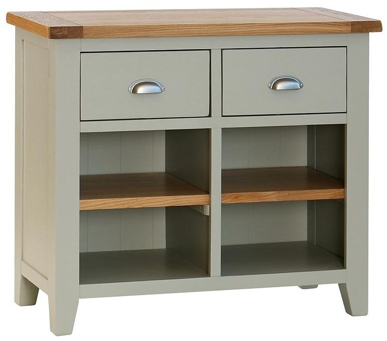 Vancouver Petite Expression 2 Drawer Small Narrow Sideboard