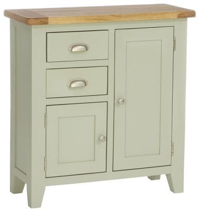 Vancouver Petite Expression Sideboard - Narrow 2 Door 2 Drawer
