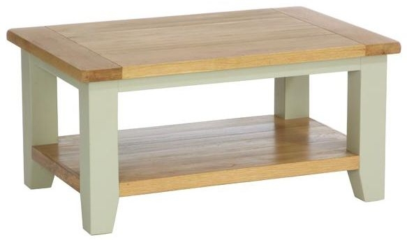 Vancouver Petite Expression Rectangular Coffee Table
