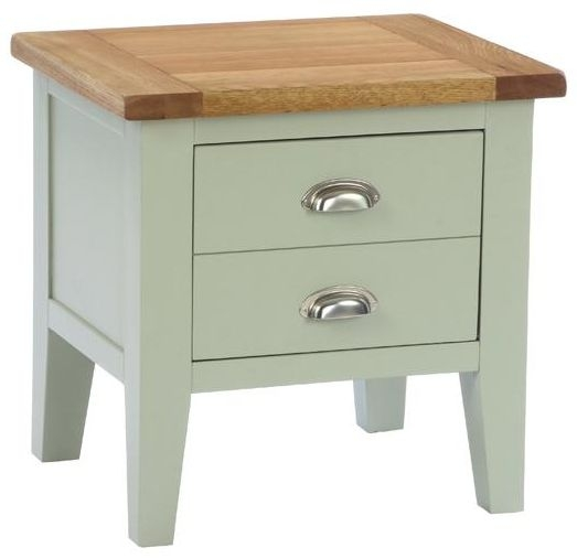 Vancouver Petite Expression 1 Drawer Lamp Table