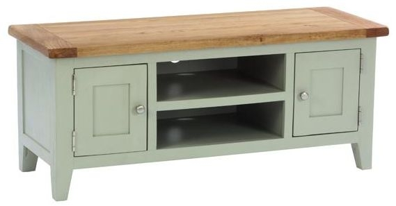 Vancouver Petite Expression TV Unit - 2 Door 1 Shelf
