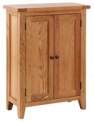 Vancouver Petite Oak 2 Door Cupboard