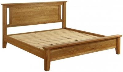 Vancouver Petite Oak 5ft Bed