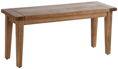 Vancouver Petite Oak Bench with Oak Seat