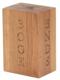 Vancouver Petite Oak Bookend
