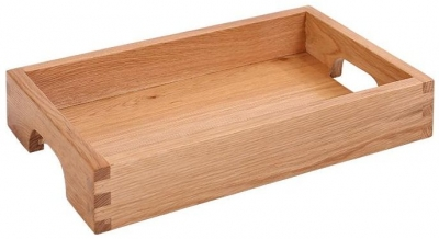 Vancouver Petite Oak Butler Tray - with No Stand