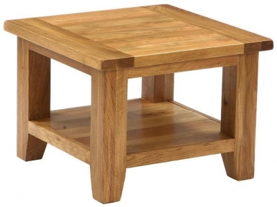 Vancouver Petite Oak Coffee Table - Square