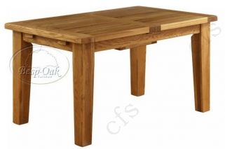 Vancouver Petite Oak Dining Table - Extending 1800 - 2300mm