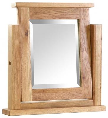 Vancouver Petite Oak Dressing Table Mirror