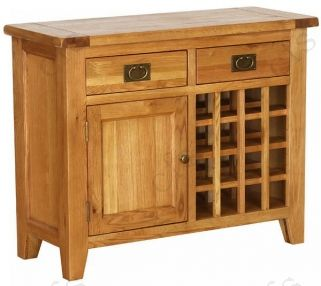 Vancouver Petite Oak Kitchen Unit with Timber Top