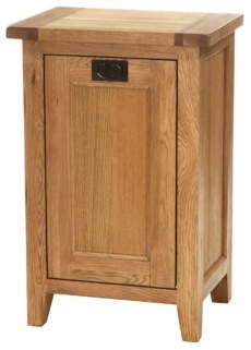 Vancouver Petite Oak Laundry Chest - Compact with 1 Drawer