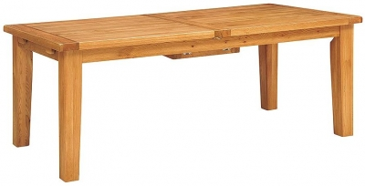 Vancouver Select Oak Dining Table - Extending