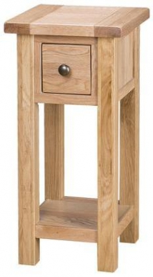 Vancouver Select Oak Occasional Table - Tall
