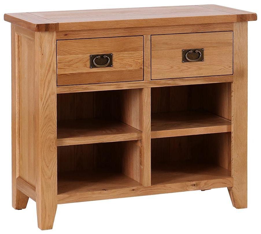 Vancouver Petite 2 Drawer Narrow Sideboard