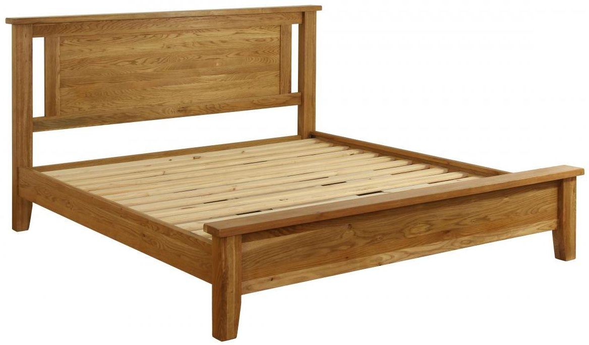 Vancouver Petite Oak Bed