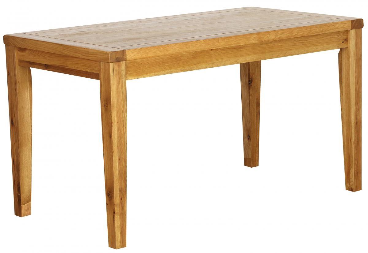 Vancouver Petite Oak Cafe Table - Rectangular