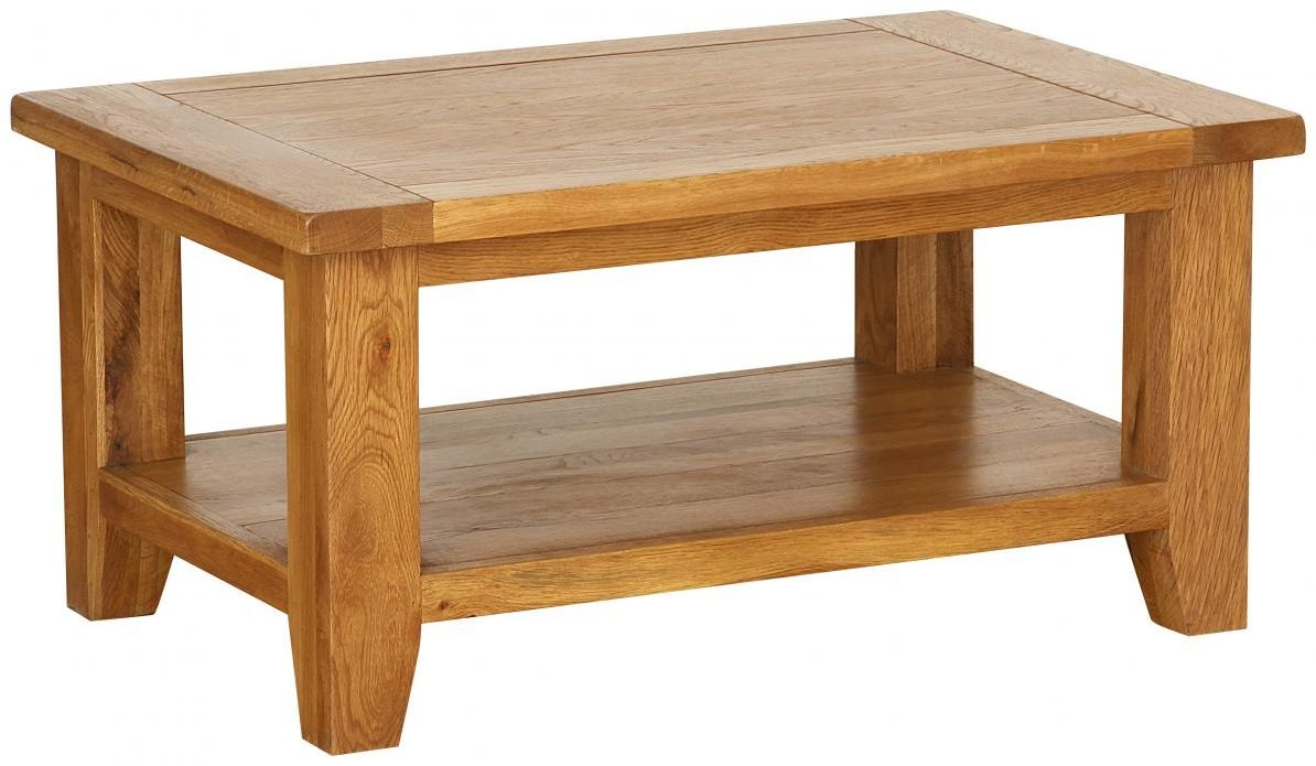 Vancouver Petite Oak Rectangular Coffee Table