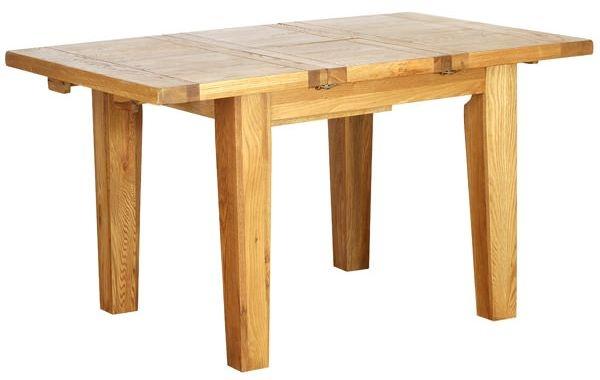 Vancouver Petite Oak Dining Table - Extending 1000 - 1400mm