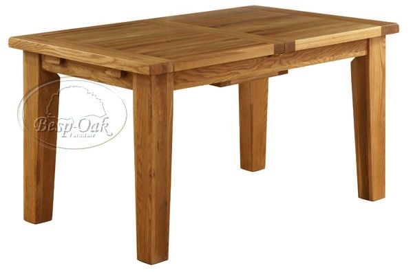 Vancouver Petite Oak Dining Table - Extending 1400 - 1800mm