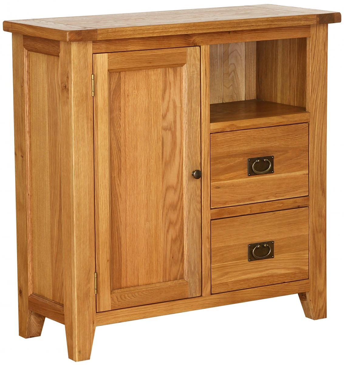 Vancouver Petite Oak Organiser Cabinet Tall with 1 Shelf  : 3 Vancouver Petite Oak Organiser Cabinet Tall with 1 Shelf 1 Door 2 Drawer from www.choicefurnituresuperstore.co.uk size 1133 x 1200 jpeg 476kB