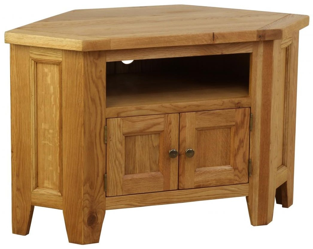 buy vancouver petite oak tv unit 90 degree corner online cfs uk. Black Bedroom Furniture Sets. Home Design Ideas