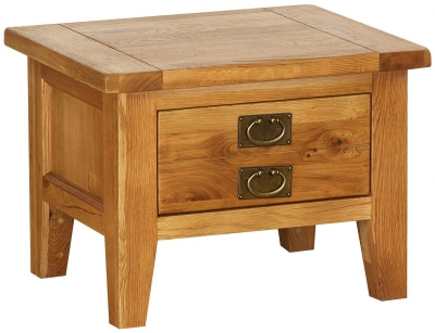 Vancouver Petite VSP Oak Coffee Table - Small 1 Drawer