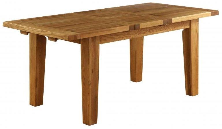 Vancouver Petite VSP Oak Rectangular Extending Dining Table - 180cm-230cm