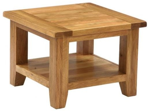 Vancouver Petite VSP Oak Coffee Table - Square