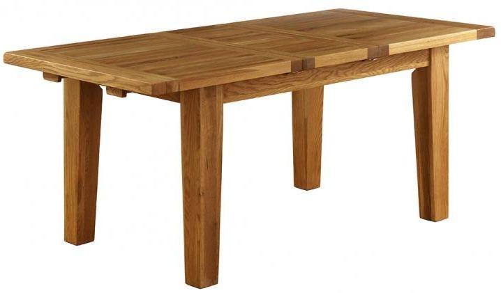 Vancouver Petite VSP Oak Dining Table - 180cm-230cm Rectangular Extending