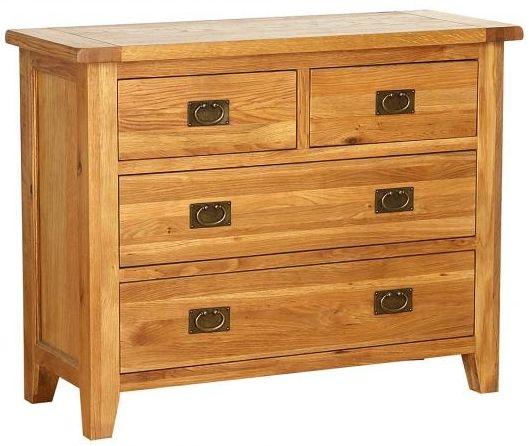 Vancouver Petite VSP Oak Dresser - 4 Drawer